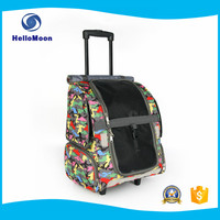 Fashion Printing Breathable Traveling Pet Luggage For Dogs