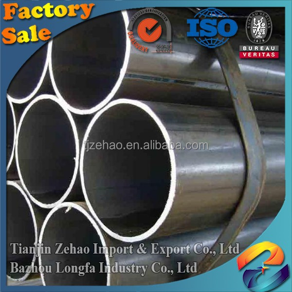 Ductile weld iron pipe factory directly supply Kelly Wang Marketing Manager TianJin Zehaoseamless steel tube black metal pipe