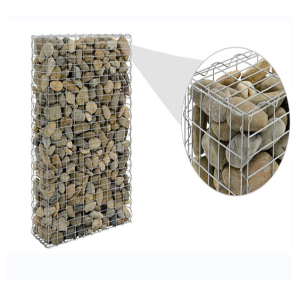 Galvanzied wire mesh welded gabion box /stone gabion cage