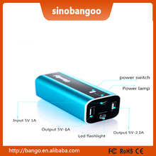 5200mah mobile cell phone charger with free samples sent out for buyer