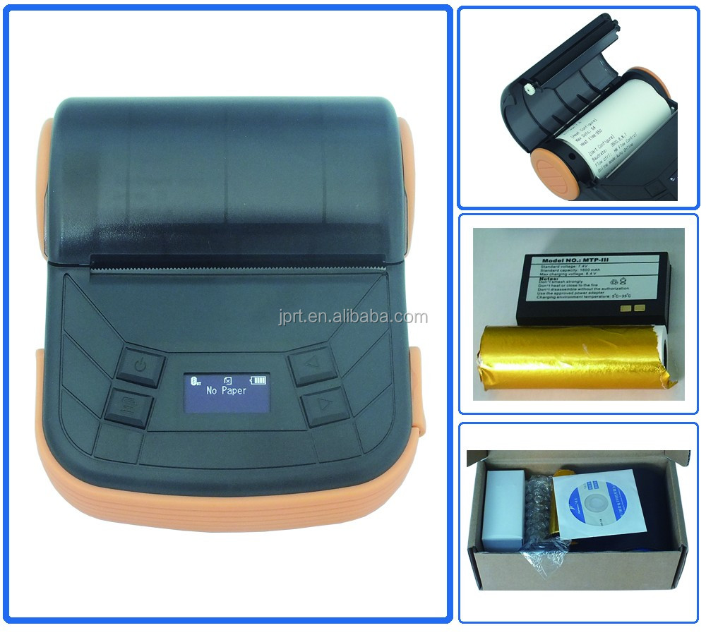 80mm USB mobile mini receipt printer billing printer for IOS/android