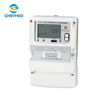 Meter manufacturers price LCD Display 3 phase 4 wire intelligent meter, smart digital power factor kwh card electricity meter