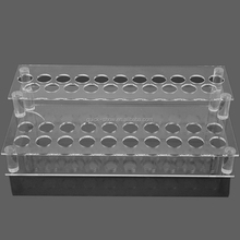 acrylic display rack white black lip stick display furniture set