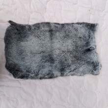 Dyed rex rabbit raw animal hide and skins