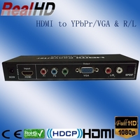 New hot sale coax HDMI to VGA converter/full hd compatible converter strong