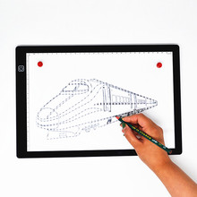 A4 Art Craft Light Table Magnetic Copy Board Graphic Painting Drawing Tablet LED Tracing Board