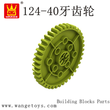 WANGE Plastic Parts Gears Giant Large Safety Plastic Building Blocks Sy For Kids