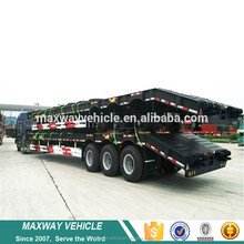 low bed trailer truck dimensions 40 tons