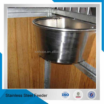 drinking bucket and feeder available Indoor bamboo filled horse stable