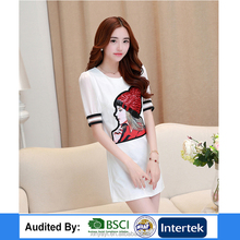 Fashion printed womens dresses designers bodycon female clothing summer dress manufacturer girls dress names with pictures