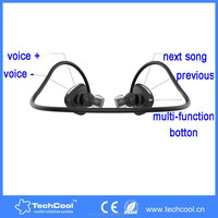 2015 new fashion mobile accessories sports earhook NFC bluetooth headset, made in China bluetooth headphone, wholesale alibaba