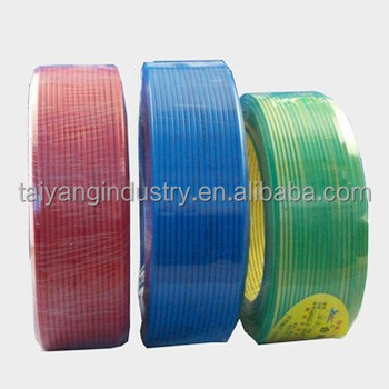 H07V-U,H07V-R,H07V-K 2.5mm2 copper conductor 70C PVC insulated electric wire