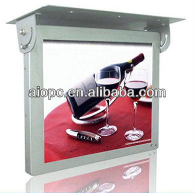 19 Inch 3G LCD Bus Info Advertising System