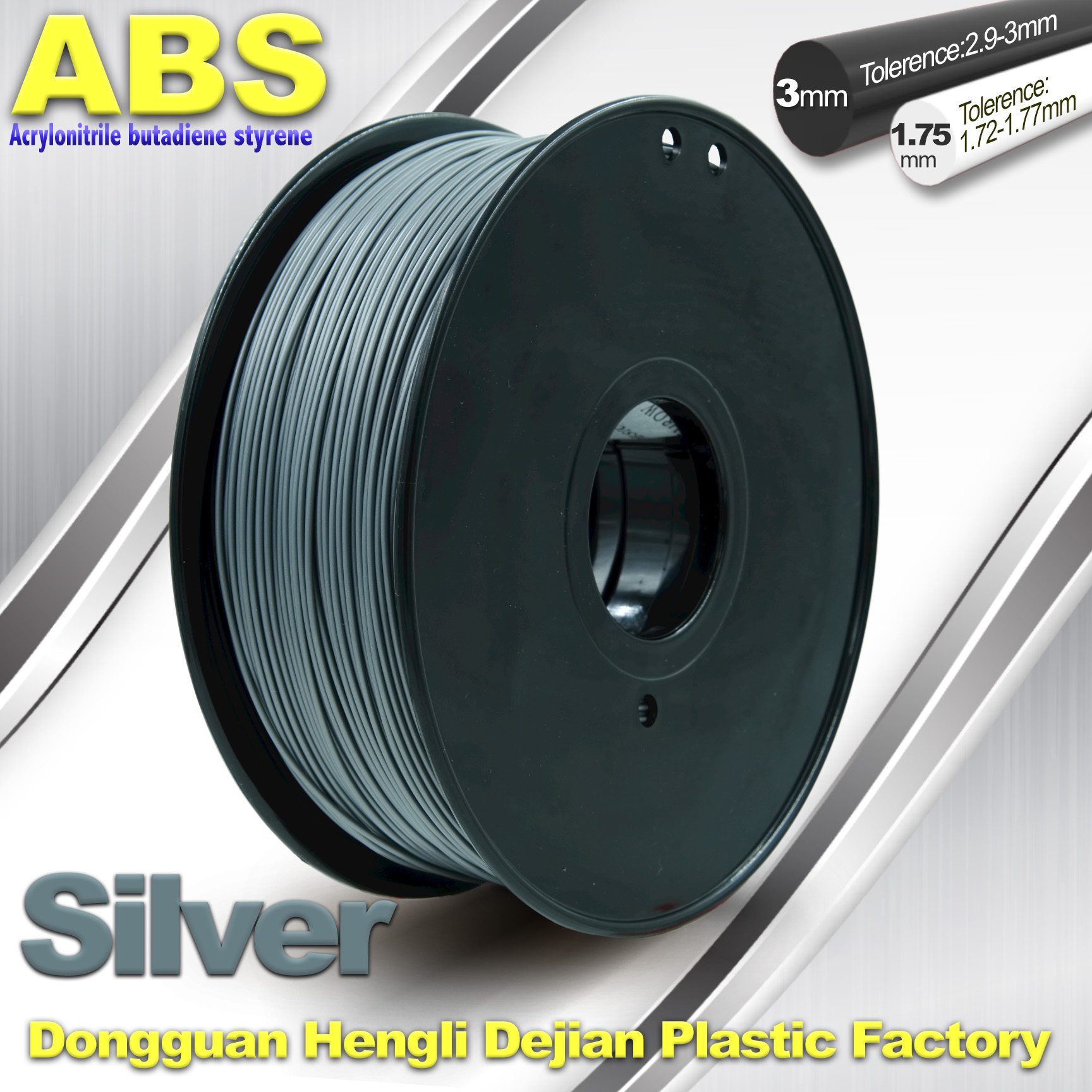 Customized pla and abs filament plastic filaments