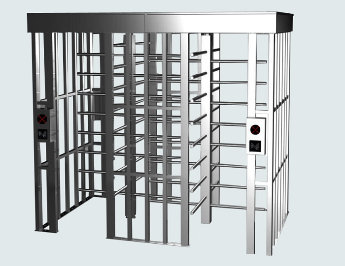 Autob CE Approved Double Full Height Turnstile Gate