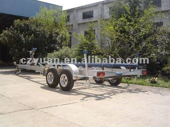 Heavy Duty Dual Axle Aluminum Boat Trailer