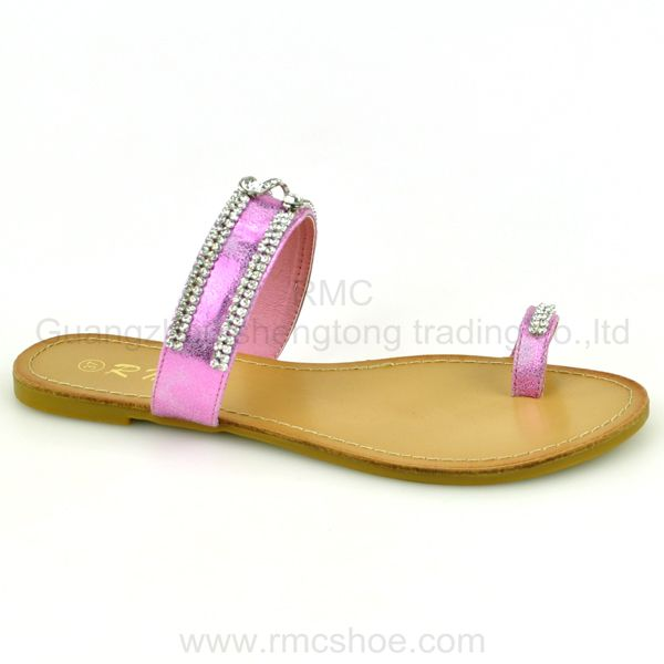 thong fashion flat summer sandals 2014 for women