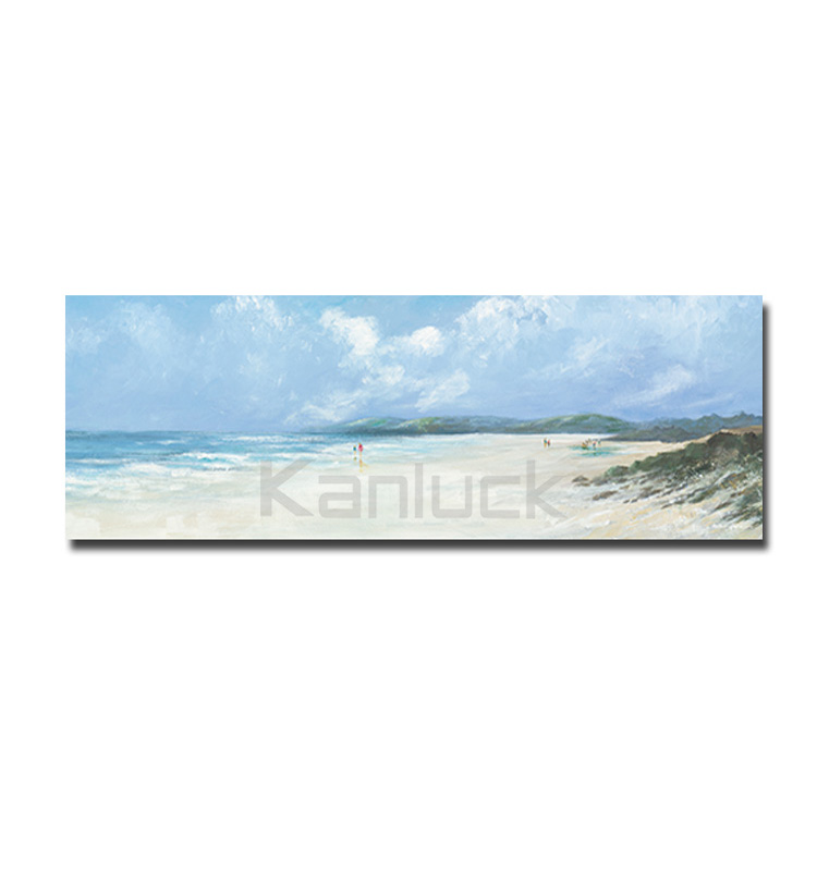 Beach Picture Printed on Stretched Canvas