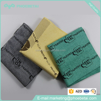 microfiber PU cleaning cloth for kitchen car screen glasses