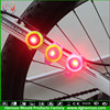 2015 New Design round flashing safety road light bike rear and front light