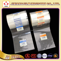 Printed plastic auto-packaging roll film for hardwares/component/screw manufacture packing