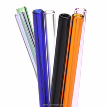 Colored Disposable Recyclable Assorted Colors Individually Wrapped plastic straw,Rainbow Colored Replacement Acrylic Straw