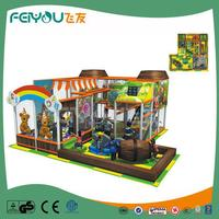 Naughty Castle New Model PVC Coated LLDPE Modular Indoor Kids Playgrounds For Restaurant