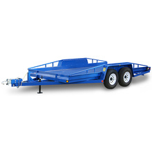 Colorful Carrying Open Flatbed Utility Custom Transporter Enclosed Car Cargo Trailer for sale