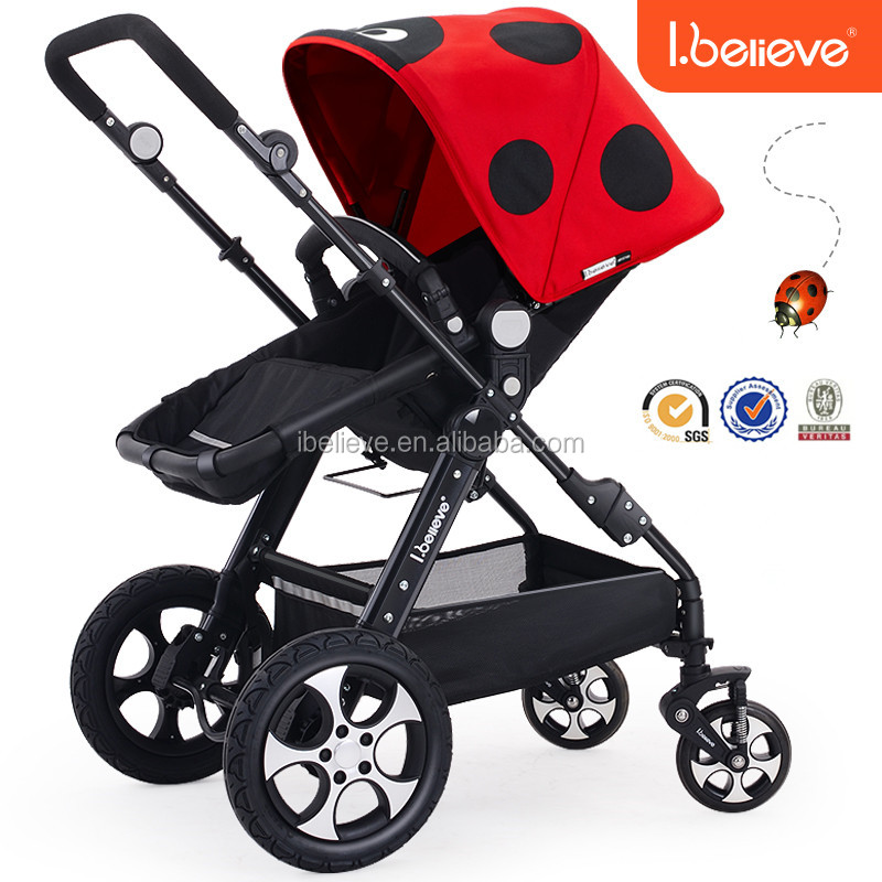 Most popular best seller color changeable EN1888 electric Baby stroller 3 in 1