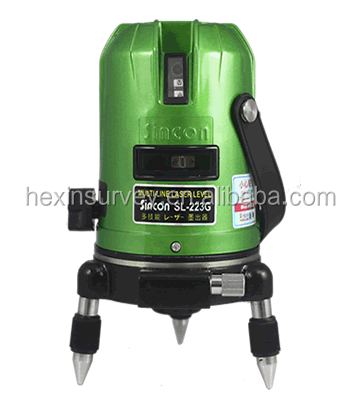 Sincon SL223G wholesale 4V1H upgrade decoration 360 rotary laser level