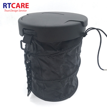 Universal Traveling Portable car trash bin with cover