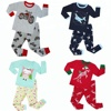 2018 Top Fashion 100 Cotton Boys Pajamas Kids Funny Pajamas Sets Animal Pyjamas Pijamas Kids