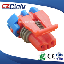 red waterproof 2 pin pa66 gf15 connector