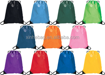Polyester drawstring shoe bag