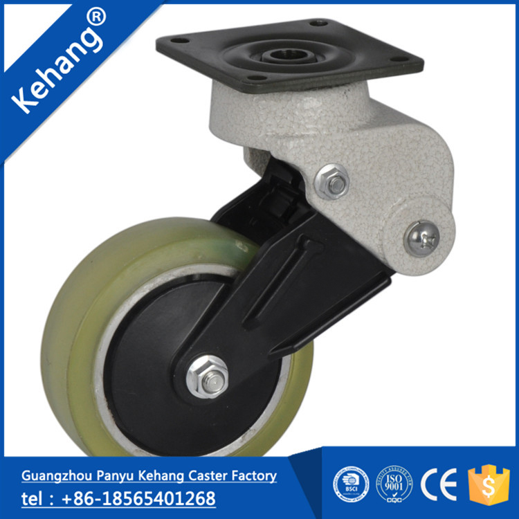 chinese wholesale new products hot sale agile nylon rubber fashion design 2 inch small roller swivel wheel axle