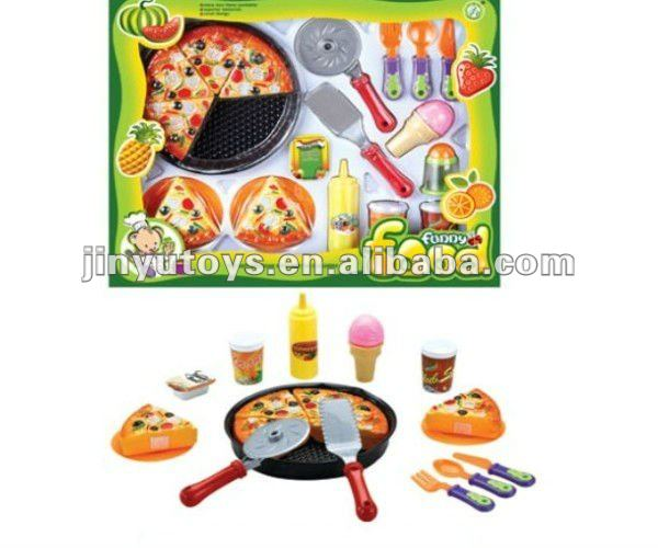 2012 new style pizza toy kitchen toy