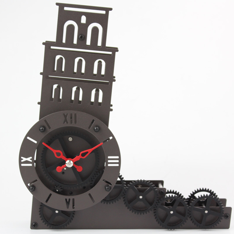 battery operated the leaning tower of pisa clock gear ratios
