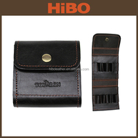 Wholesale Top Grain Genuine Custom Cartridge Case Heritage Leather Cartridge Case/Holder