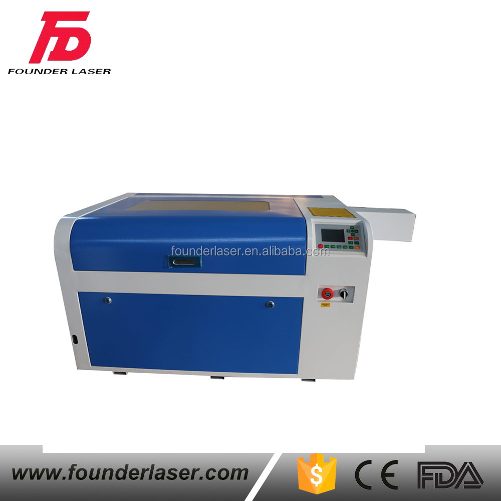 desktop mini co2 laser cutter engraver laser engraving and cutting machine for Awards&Trophies/paper doilies/Rubber stamp
