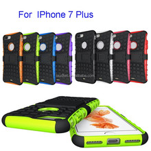 Hybrid Shockproof Rugged Matte Hard Case Cover Shockproof Rubber Grip cover for Iphone 7 plus