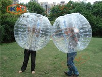 cheap human inflatable bumper bubble ball