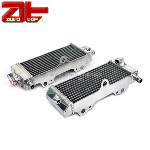Durable Motocross Water Cooling Radiator With Aluminum Radiator Core For YAMAHA YZ125 2005-2011