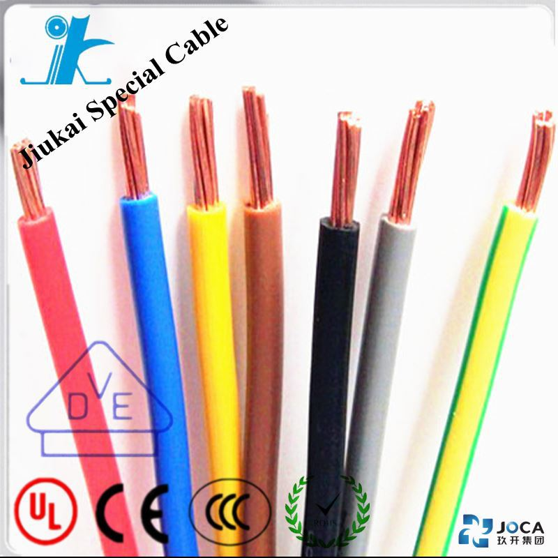 UL1021 225-500 kcmil PVC insulation electrical wire names