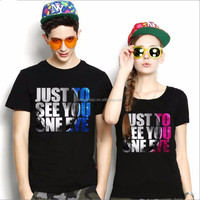 very nice design sweet family high quality new fashion style hanes couple lover t shirt
