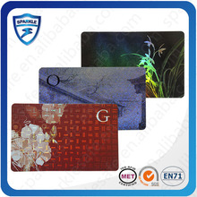 China manufacturer plastic customized shape 125khz rfid em4001 card
