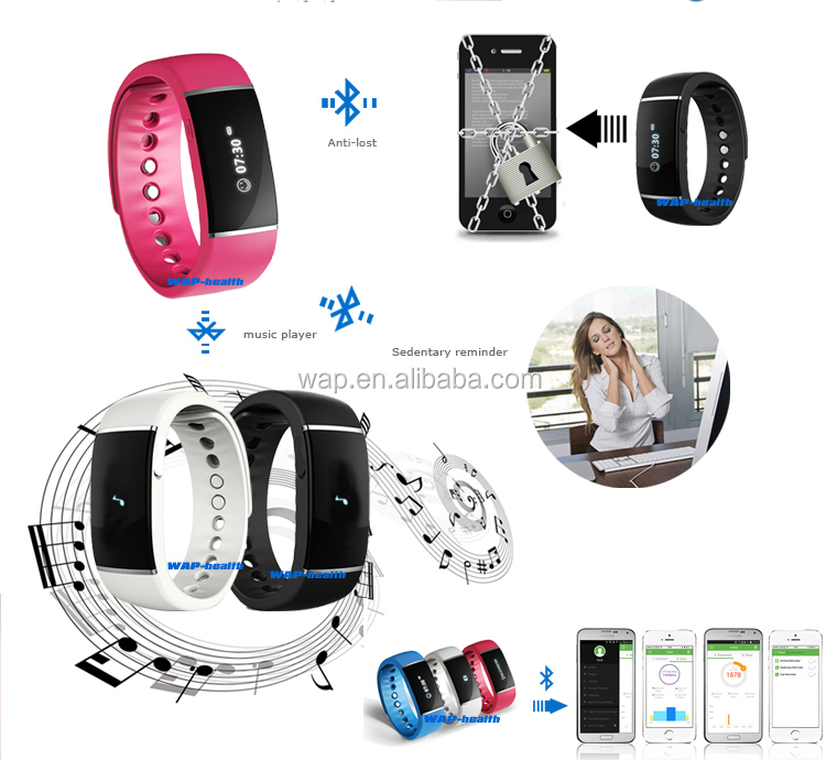 WAP-health CE approved popular health care smart watch with Alarm