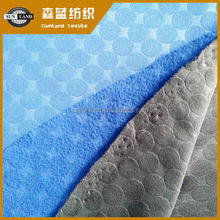 100%polyester interlock pk brushed polar fleece fabric for winter garment