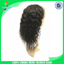 5a grade 2014 best selling long 100 milky way human hair full lace wig in dubai