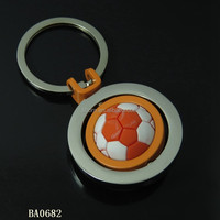 Factory price sports keychain foot ball