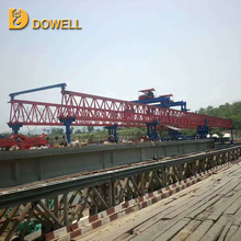 Truss type high quality erecting bridge girder launcher